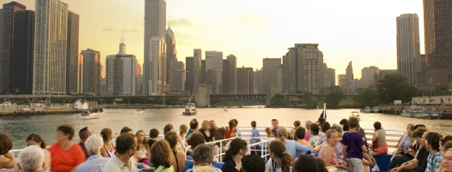 Illinois - a view of Chicago from Lake Michigan - See America - Visit USA Travel Guide