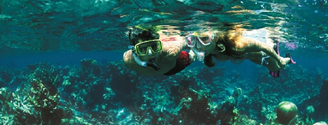 US Virgin Islands - Snorkeling on the Reefs - See America - Visit USA Travel Guide